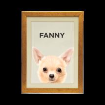 Quadro Personalizado Pet Chihuahua