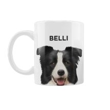 Caneca Pet Border Collie