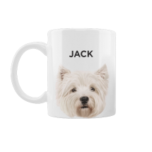 Caneca Pet West Highland Terrier