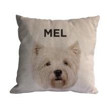 Almofada Personalizada Pet West Highland Terrier