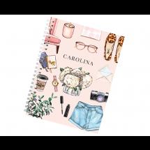 Caderno Personalizado Fashion