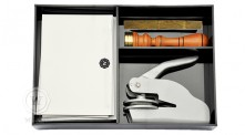 Kit Papelaria Carta Clássico Logo
