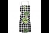 Avental Personalizado Estampa Xadrez Vegetais