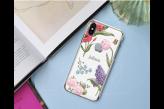 Case Celular Transparente Floral